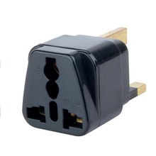 SE-UA7 Export products of singapore us 2 pin to different types of sockets plug adapter