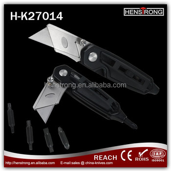 Top quality Stainless steel Multi-purpose Utility Knife