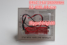 F2-40BL and ER6C Non rechargeable battery 3.6V 1800mah AA size