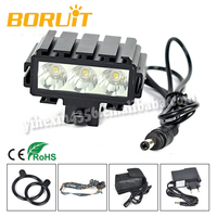 Boruit 3L2 High Power LED Bicycle Light with Timer