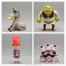 Shrek cartoon dolls toys anime toys for Mcdonald toys gifts OEM&ODM cartoon figures manufacturer factory