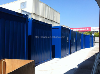prefab container house 8x20ft single bedroom, office, classroom