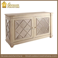Hot Sale High Quality Wooden 2 doors Storage Antique Cabinet Furniture