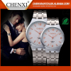 Watch Factory Direct Sale Japan Movt Quartz Wrist Watch Water Resistant Wristwatch Couple Watch