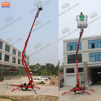 New design truck mounted articulated man lift