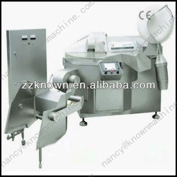 Industrial high capacity vacuum meat cutter mixer for sausage