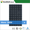 Top grade Cheapest price panel solar 260wp mono with good quality and high efficiency