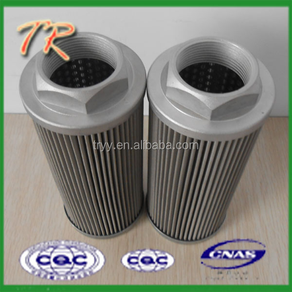 Most popular with international market WU-160X100J suction oil filter element