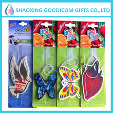 2017 Wholesale Promotion Hanging Paper Auto Air Freshener