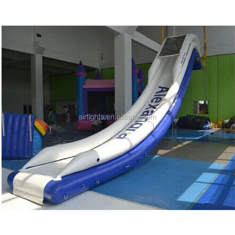 0.65mm PVC inflatable aqua <strong>slide</strong>, water park inflatable <strong>slide</strong>