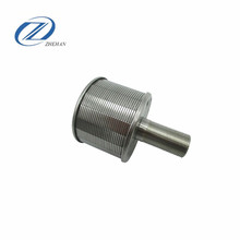 stainless steel Johnson Type Wedge Wire Screen Filter Nozzle With V-wire Support Bar