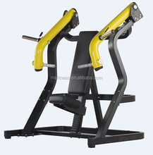 LA-02 Sports commercial gym/fitness hammer strength equipment seated incline chest press machine