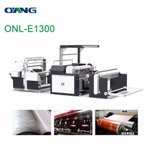 ONL-E1300 Roll Nonwoven embossing machine, Mesh patroon niet geweven stof embossing machine