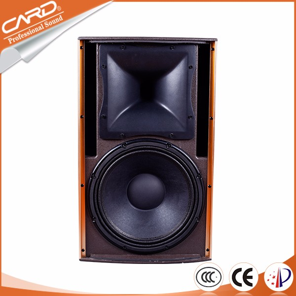 China professional box design cheap 400 w speaker,center speaker,canteen speaker