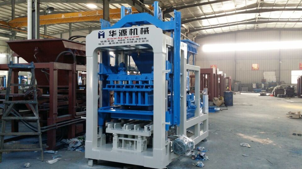QT6-15 good price Fully automatic concrete block making machine in india