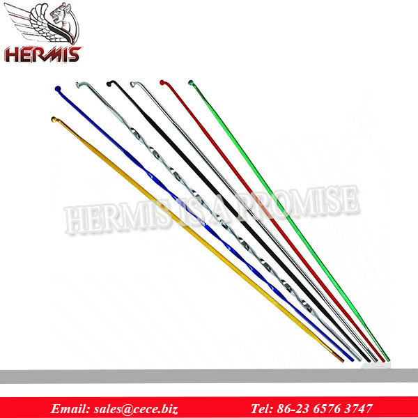 from trade assurance order Colourful Multi Wheel Spokes for Motorcycle