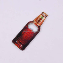 keyring bottle opener fridge magnet beer shaped bottle opener
