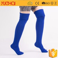 wholesale double needle knee high socks; argyle fancy designer; fashion knee high sock