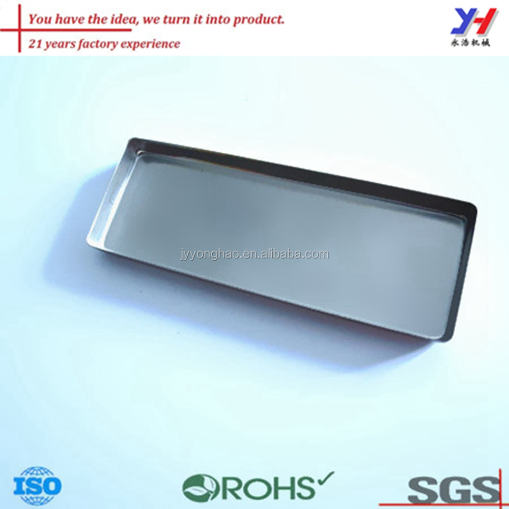 OEM ODM customized stainless steel serving tray for hotel and restaurant
