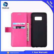 Factory Wholesale Flip Case With Credit Card Holder for Samsung S4 Leather Wallet Case