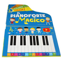 Custom high quality piano keyboard sound book for kids music education/children sound book for piano