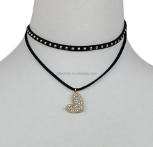 New arrival fashion fake gold chain necklace