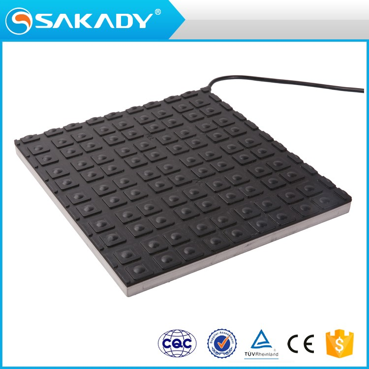 Long Service Life BLACK Rubber CCC CE TUV Industrial Weight Sensor Switch for Safety Mat