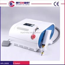 Q Switch Yag Tattoo Eyebrow Callus Removal Anti-aging Beauty Machine/New Products 2016 Beauty salon equipment