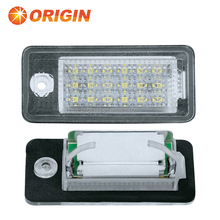 LED License plate Lamp strong canbus type license frame lamp LED light for Audi A3 8P A6 4F