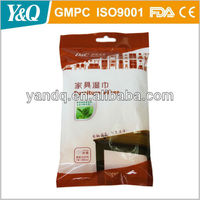 Soft feeling cotton furniture cleaning wet wipes