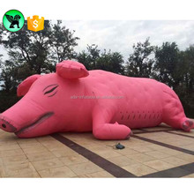 Pig Animal Replica Inflatable Event Party Decoration Giant Inflatable Pig Mascot A2113