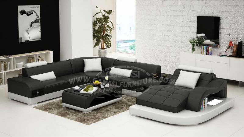 Models Modern Sofas,country Style Leather Sofa,famous Leather Sofa Set