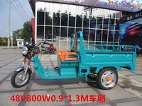 2016 Hot sale D007 Electric three wheelers Cargo tricycle 1.3-2.0M hopper 1000-1200W Electric tricycle