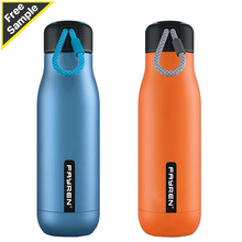 Custom 500ML Kids <strong>Sport</strong> Vacuum Insulated Hot Drinking Double Wall 304 Stainless Steel Water Bottle