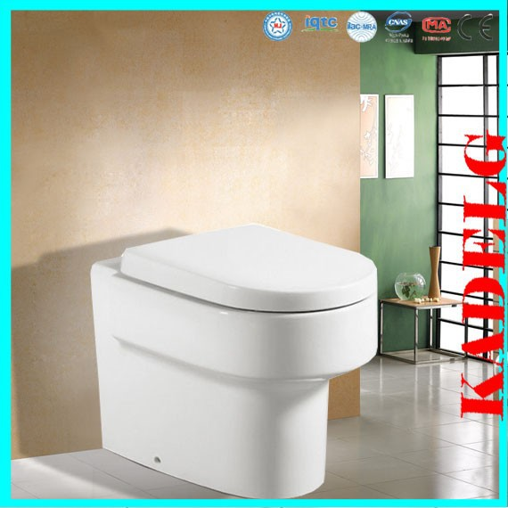 Florence Modern Ceramic Back To Wall Pan Bathroom Toilet With Soft Close Seat 2391B