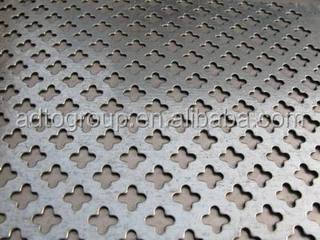 Aluminum Sheet Wall Decoration, Ceiling Aluminum Sheet Perforated