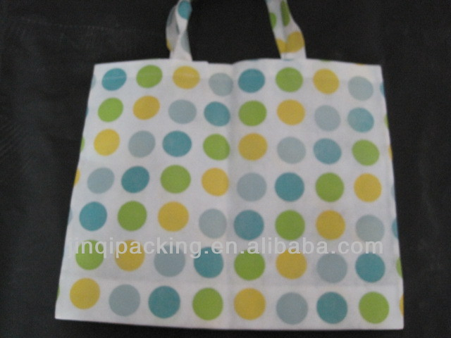 Common 80g printing non-woven shopping bags, carry hand rope