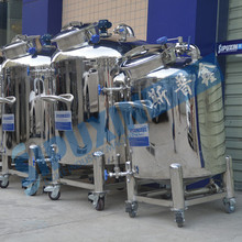 Sipuxin pneumatic mixing perfume sterile storage tank/ for milk, wine, tea