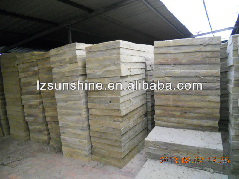 Thermal insulation and fireproof heat insulation rockwool board