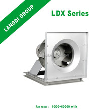 2017 hot sale LDX450 Commercial Electric Industry Exhaust Ventilation Centrifugal Extract Blower Fan VAV Tube unit Purifier AMCA
