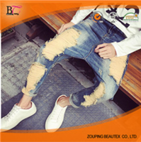 The latest design new fashion motorcycle jeans pants factory china