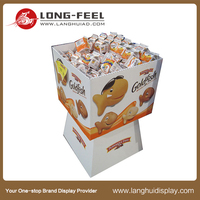 wholesale advertising cardboard candy counter display