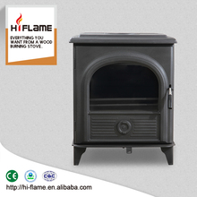 Multi Fuel steel plate wood stove with back water boiler AL910B