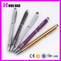 cheap promotional ballpoint pen in various color/touchpen for pen manufacturer