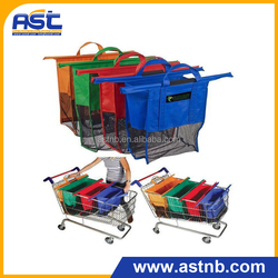 Cart Shopping Bag Trolley Bag For Super Market Shopping Bag foldable carry bag