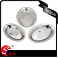 wholesale Thai stainless steel dinner plate/egg plate/deep plate/fruit tray