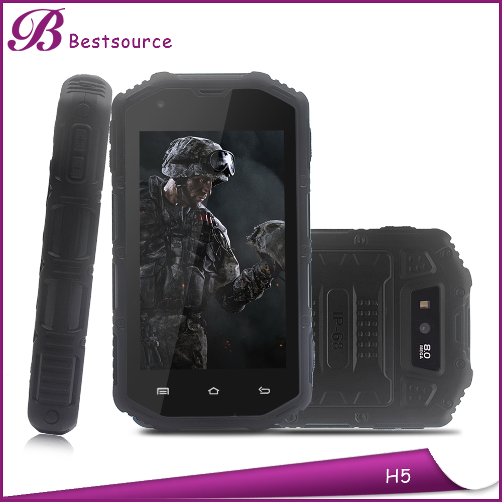 4'' IPS screen android 4.2 dual core mtk6572A dual card 3G wholesale phone Waterproof 4 inch Hummer H5