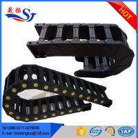 electric cable channel cable nylon chain cable track cover