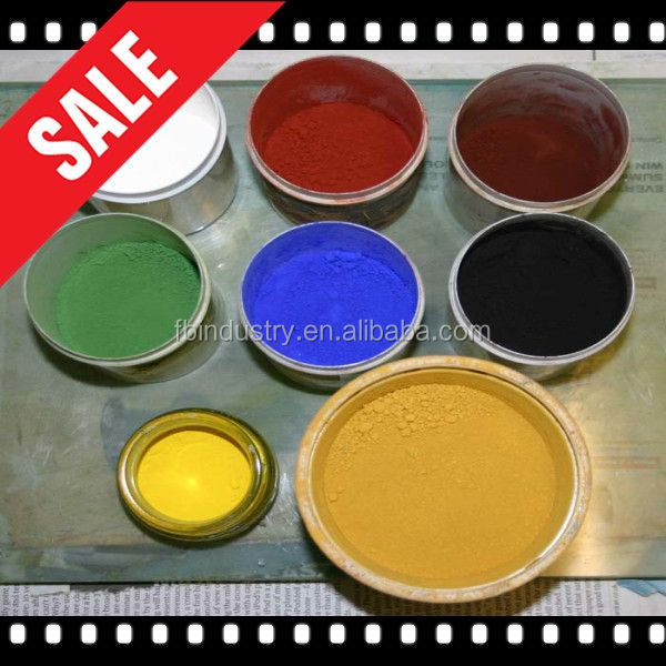 Synthetic Iron Oxide Red Yellow Black