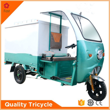 UPS motorized tricycle cabin tricycle with closed cargo box